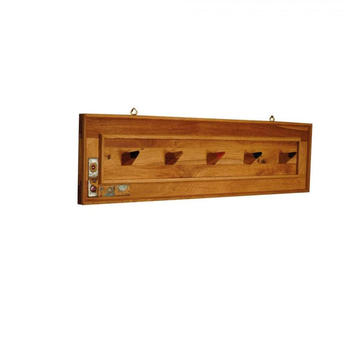 Wall Mounted Wooden Coat Rack