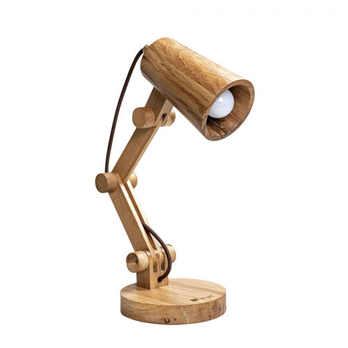 Gugar Acrobat - Wooden Desk Lamp