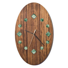 Load image into Gallery viewer, Decorative wooden wall clock