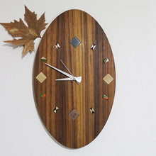 Load image into Gallery viewer, Wooden Wall clock for home decoration