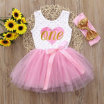 Summer New Cotton Baby Girls Dress Infant - Miranda's Paparazzi Style