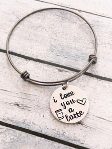 Love bracelet - Gift for loved one - Hand stamped - Miranda's Paparazzi Style