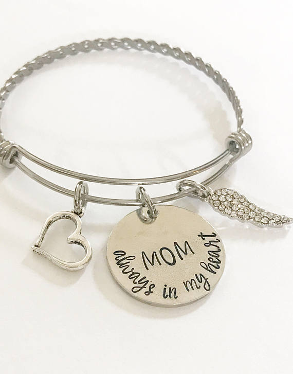 Memorial bracelet - Remembrance jewelry - Mom - Miranda's Paparazzi Style