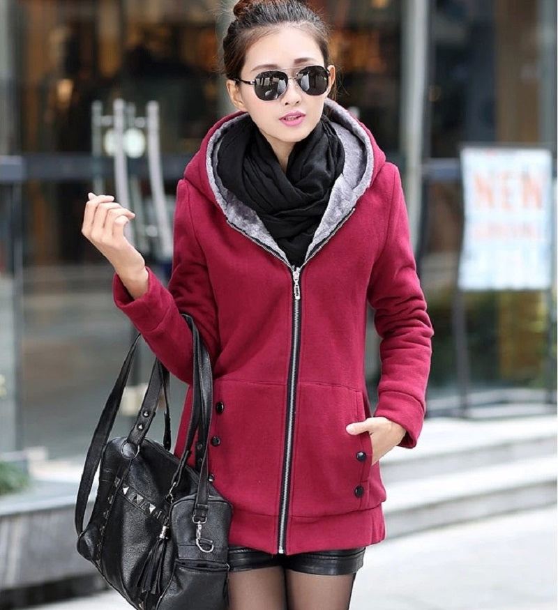 2019 Womens Full Solid Winter Coats - Miranda's Paparazzi Style