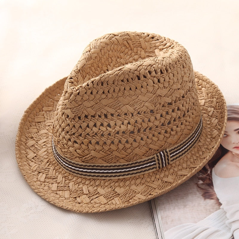 Retro Summer Straw Hat For Women