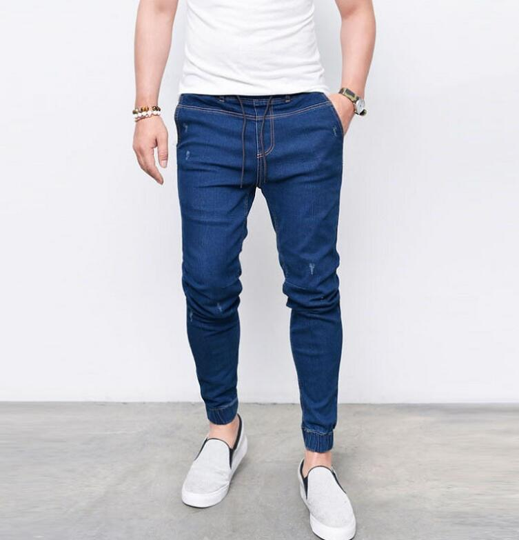 Envmenst Brand Fashion Men's Harem Jeans