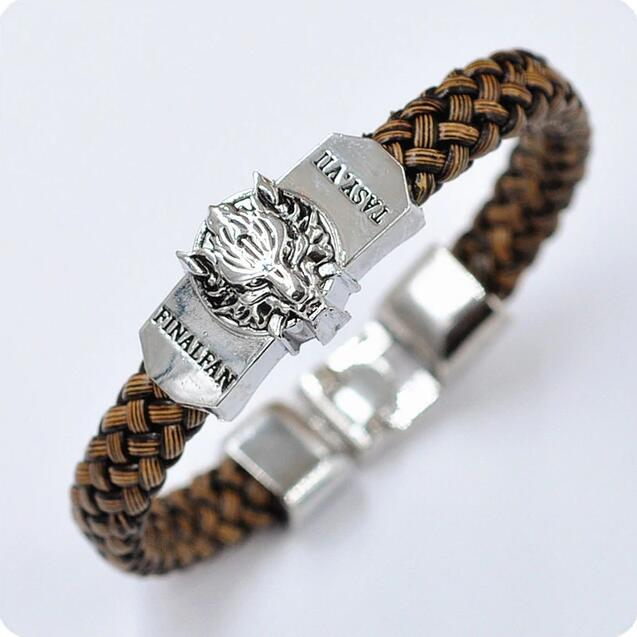 Men Jewelry Leather Bracelet Game of Thrones Wristband