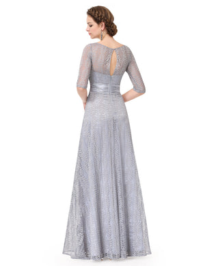 Pretty Long Lace Mother Of Bride Formal Evening Dresses - Miranda's Paparazzi Style