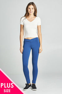 ponte seagull shaped waistband long pants - Miranda's Paparazzi Style