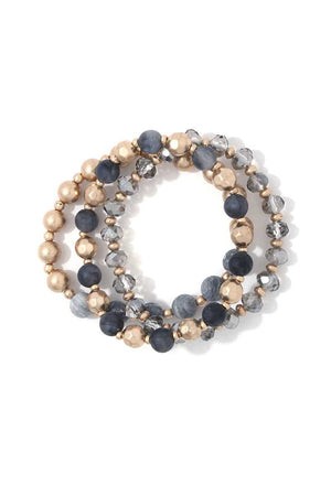 Beaded Stretch Bracelet - Miranda's Paparazzi Style