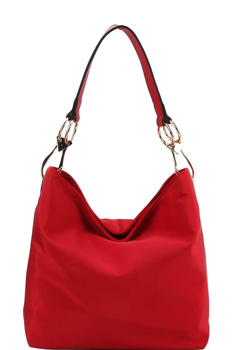 Chic Fashion Durable Canvas Fabric Hobo Bag - Miranda's Paparazzi Style
