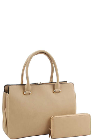 2in1 Cute Sleek Satchel With Matching Wallet - Miranda's Paparazzi Style