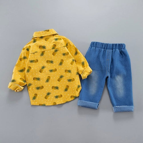 Costume For A Boy 2Pcs Infant Toddler Baby Boys Pineapple Outfit - Miranda's Paparazzi Style