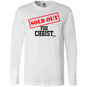 SOLD OUT FOR CHRIST Men's Jersey LS T-Shirt - Miranda's Paparazzi Style