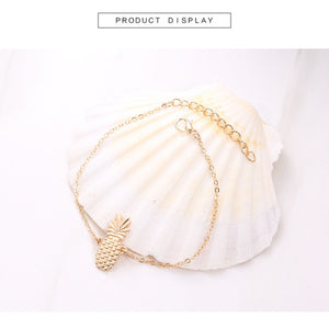 Chain Pineapple Anklet Jewelry - Miranda's Paparazzi Style