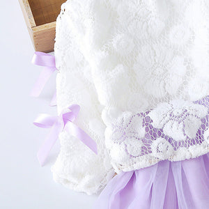Vestido Infantil baby girl dress winter spring - Miranda's Paparazzi Style