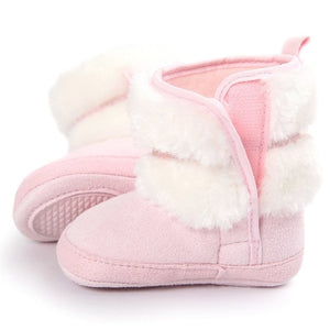 baby shoes Lovely  Bowknot 3 color Keep Warm Soft - Miranda's Paparazzi Style