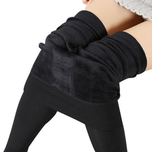 Women's Thick Fleece Lined Thermal Stretchy Casual Leggings Pants - Miranda's Paparazzi Style