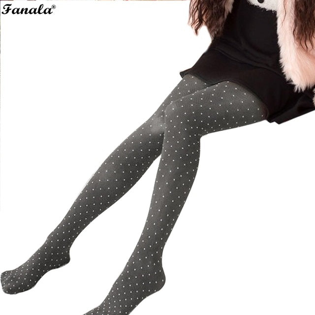 Only $6.00! 2018 New Women's Leggings Polainas Girl Spring and Autumn Skinny Polka Dots Leggings Stretch Pants N3020 - Miranda's Paparazzi Style