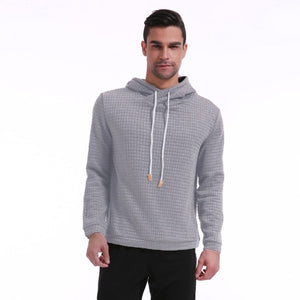 Men 2019 Long Sleeve Solid Color Hooded Men's Sweatshirt 3XL 4XL - Miranda's Paparazzi Style