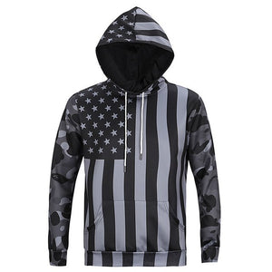 Men/Women 3d Sweatshirts Print USA Flag Stars Stripped Hoody - Miranda's Paparazzi Style