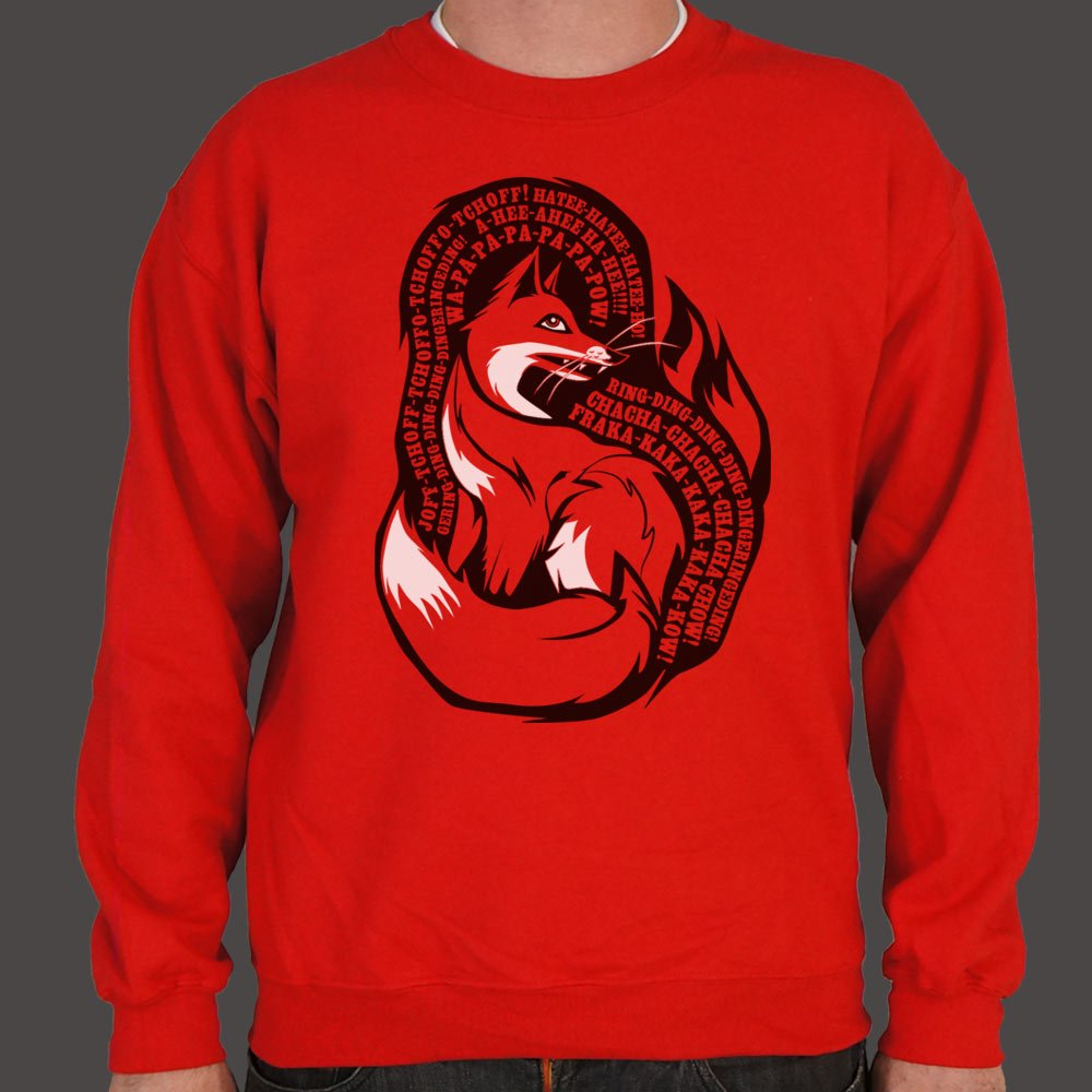 What Does The Fox Say Sweater (Mens) - Miranda's Paparazzi Style