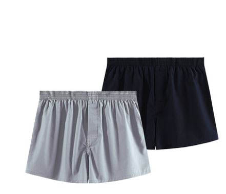 Men's all-cotton comfortable skin friendly boxer briefs