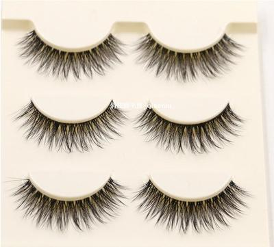 Women's Natural Thick innocent eyes Lashes