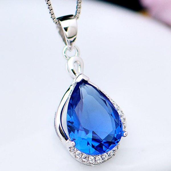 s925pendant ladies accessories necklace sterling silver - Here2U