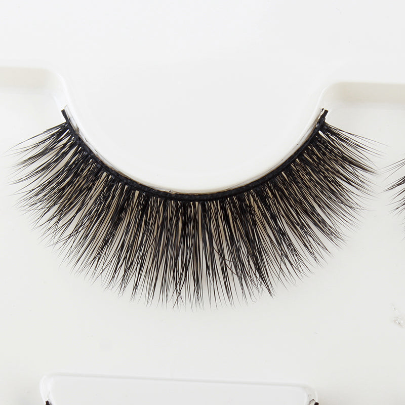 Thick long nightclub makeup lashes