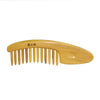 Leaf Yellow natural material no electrostatic hair loss - Here2U