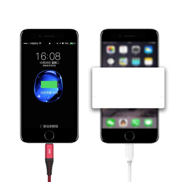 IPhone6- 6S - 7P flush ipad 5 cell phone plus2 m data cable - Here2U