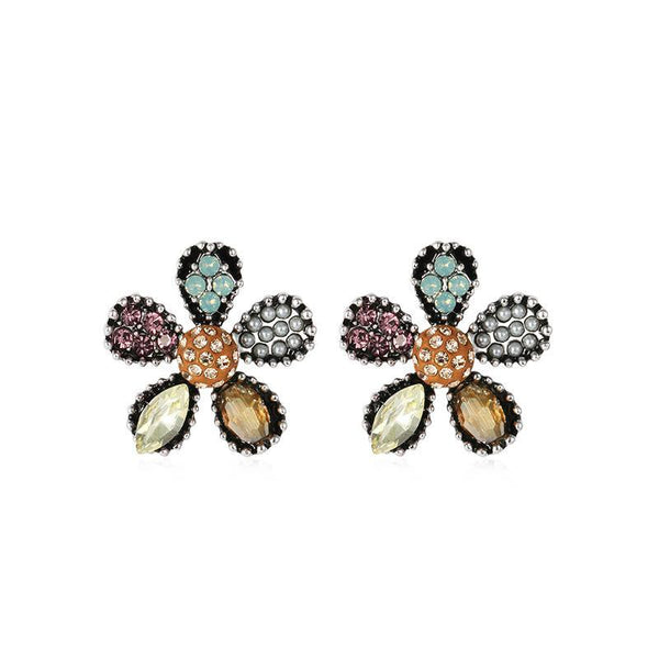 Small Flowers personality cute soft earrings - Here2U