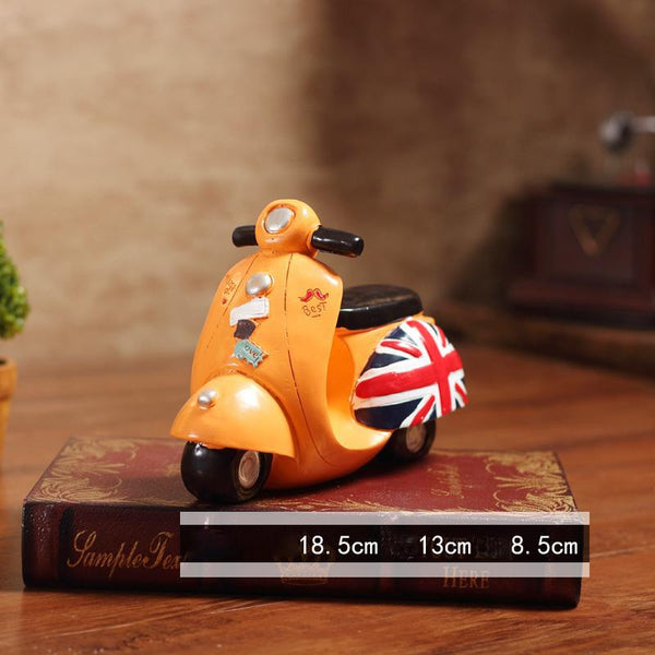 Motorcycle model decoration cabinet wine - Here2U
