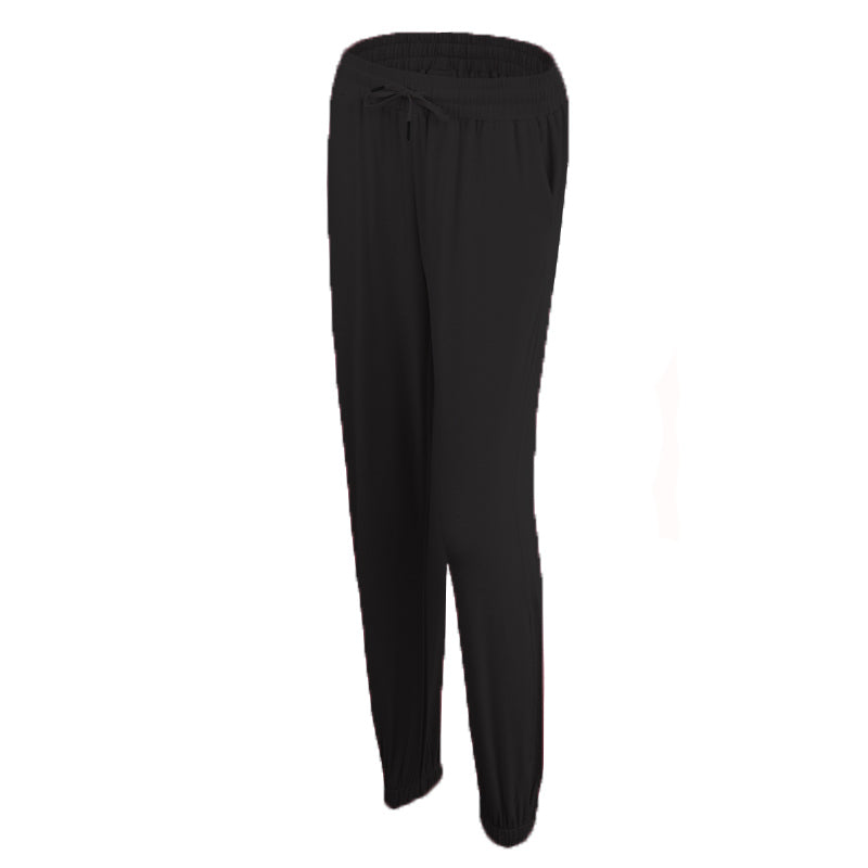 Thin section slimming casual trousers
