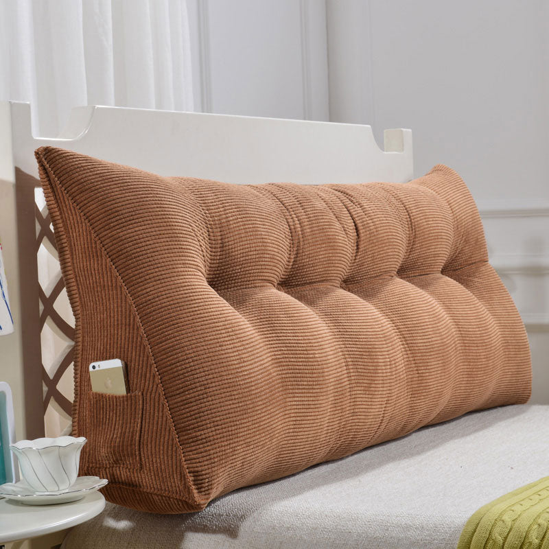 Waist headboard cushions removable and washable