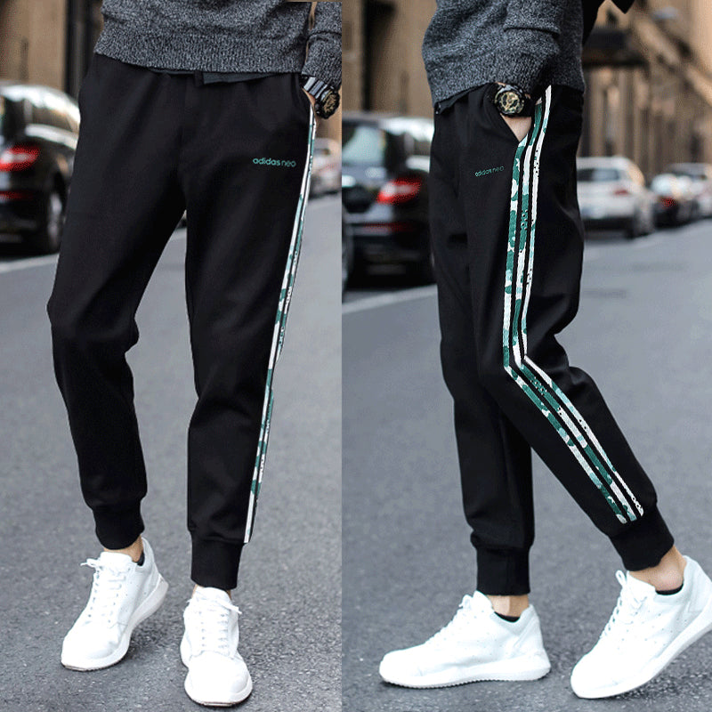 Men's small feet casual running Trousers pants