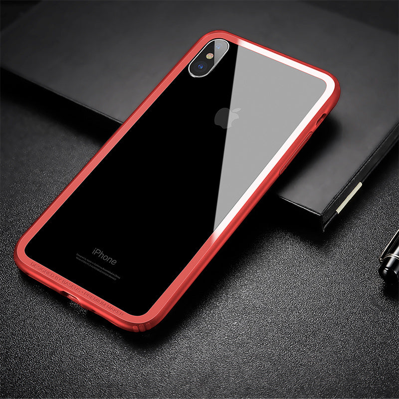 iphoneX  anti-drop silicone shell frame