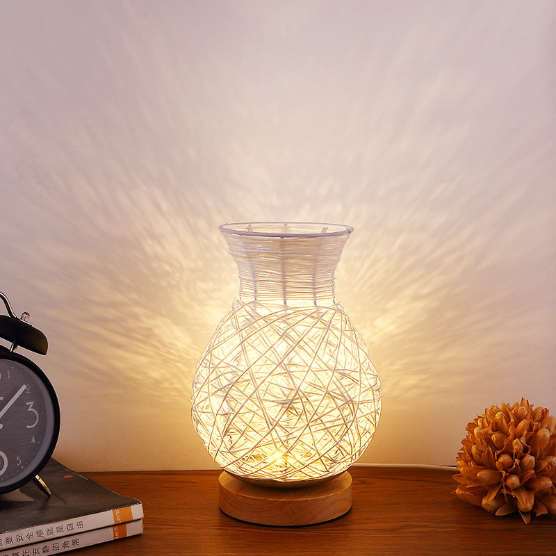 Creative Dimmable vase lamp wedding room night light