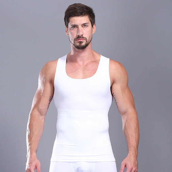 Men's abdomen invisible stereotype corset