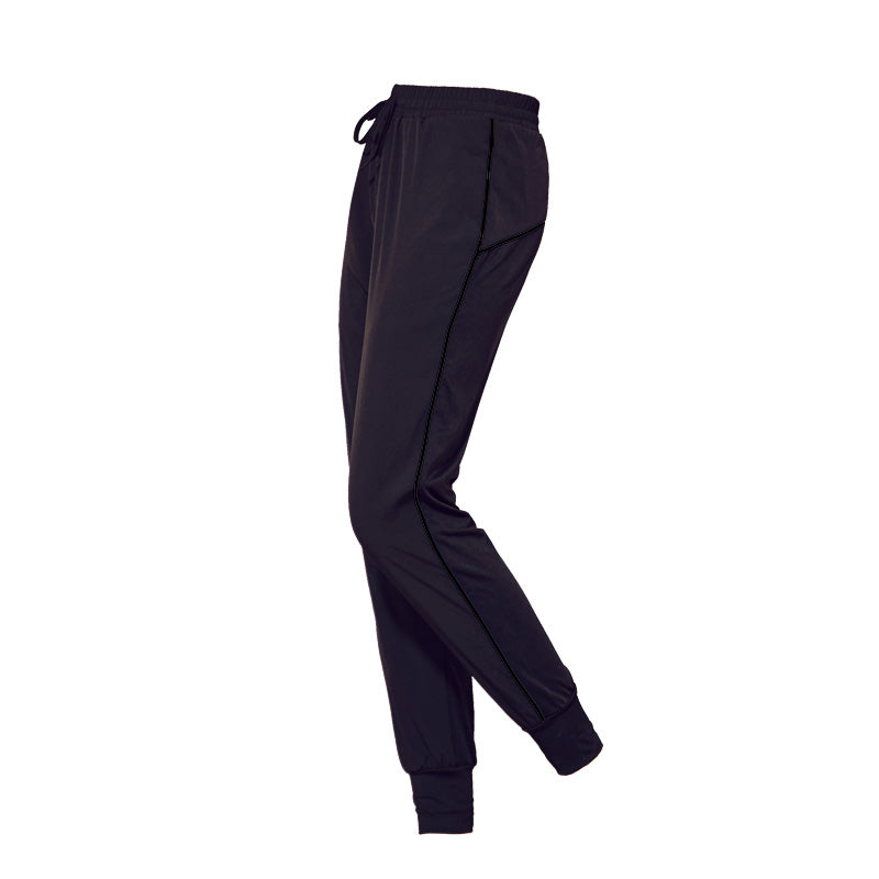 Sports women quick-drying loose breathable running trousers