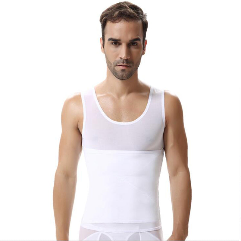 Men's abdomen stereotypes slimming corset