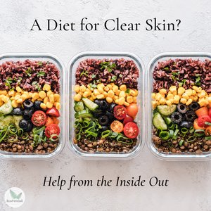 A Diet for Clear Skin – Help from the Inside Out