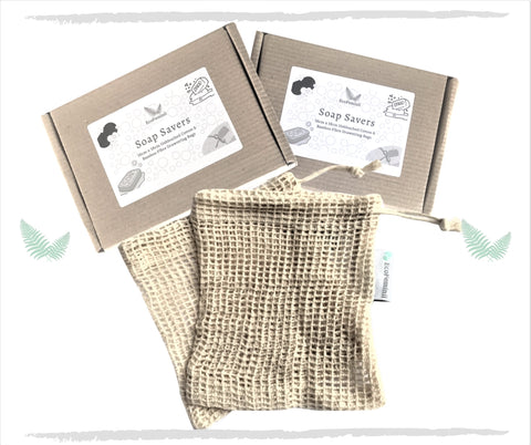 soap savers cotton mesh bags