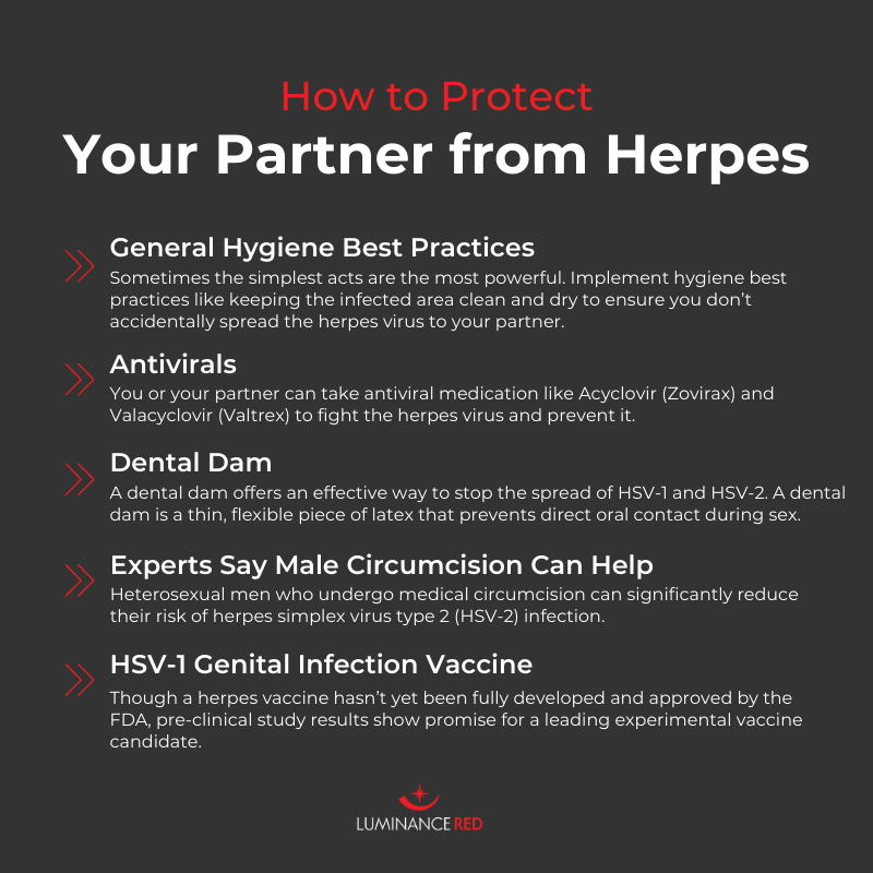 Protect your partner from herpes