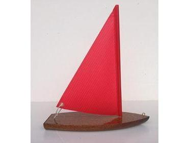 Toy Boat: T9 Wooden Toy Sailboat Floater by Tippecanoe Boats