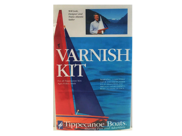 Model Sailboat Accessories: Varnish Kit for T27 RC Sailboat