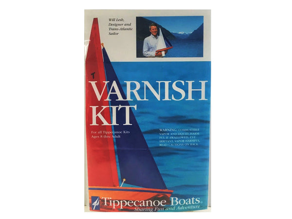 RC Sailboat Varnish Kit: Beautiful Finish for Wooden Model Boat Kit