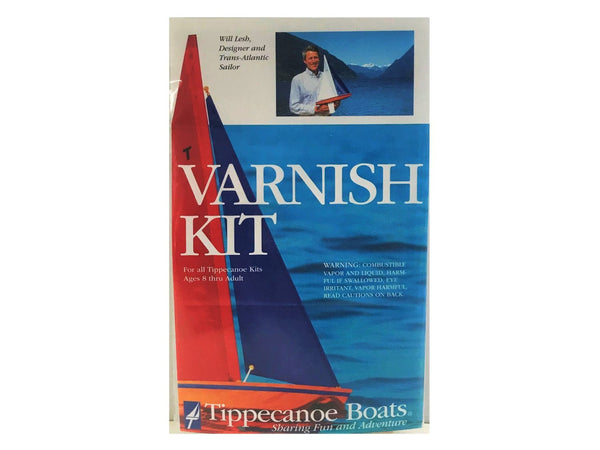 Wooden Toy Sailboat Varnish Kit