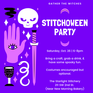 Stitchoween Craft Party